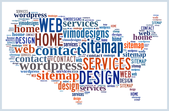 Sitemap Wordpress US Map Art