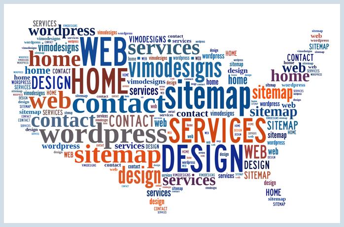 Sitemap Wordpress US Map Art